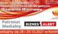 XI edycja Forum Technologii w Ciepłownictwie i Energetyce – Spalanie Biomasy. Grafika organizatora.