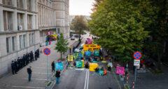 Greenpeace blokuje MAP. Fot. Greenpeace Polska