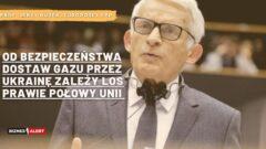 Jerzy Buzek. Grafika: Michał Perzyński