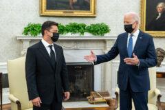 Joe Biden i Wołodymyr Zełeński. Fot. Biały Dom