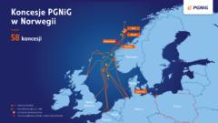 Koncesje PGNiG w Norwegii fot. PGNIG