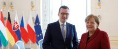 Angela Merkel i Mateusz Morawiecki. Fot. Kancelaria Premiera