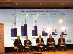 Konferencja wynikowa PGNiG. Fot. Mariusz Marszałkowski