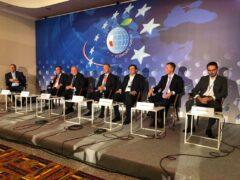 Panel poświęcony offshore podczas Forum Ekonomicznego w Karpaczu. Fot. Bartłomiej Sawicki