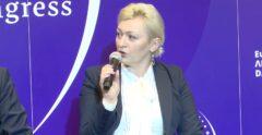Ewa Sikora podczas EKG 2021. Fot. BiznesAlert.pl.