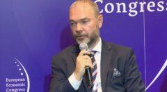Mariusz Jurczyk podczas EKG 2021. Fot. BiznesAlert.pl.