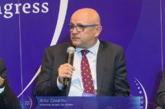Wiceprezes Gaz-Systemu Artur Zawartko podczas EKG 2021. Fot. Jędrzej Stachura