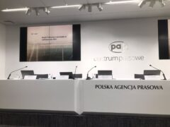 Konferencja prasowa PGE. Fot. Michał Perzyński