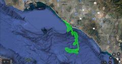 Wyciek ropy w Kalifornii. Fot. Miasto Huntington Beach